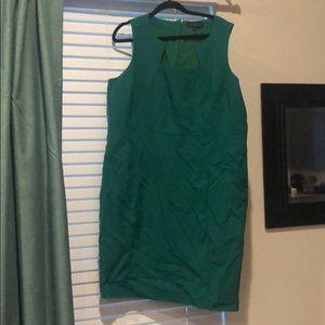 Eloquii Green Bodycon Dress
